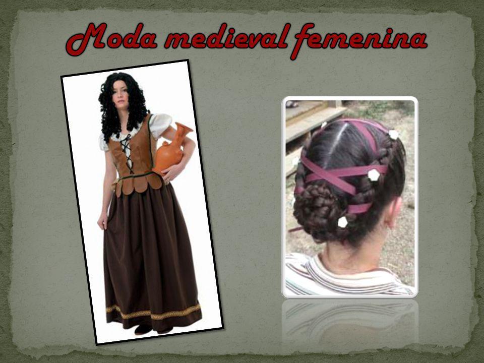 Moda medieval femenina