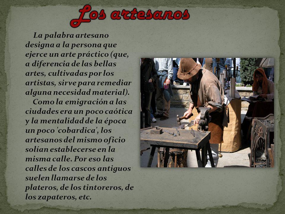 Los artesanos