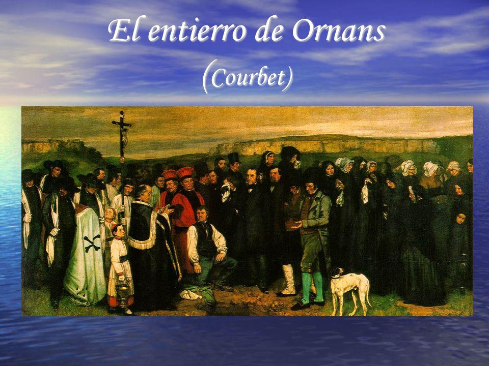 El entierro de Ornans (Courbet)