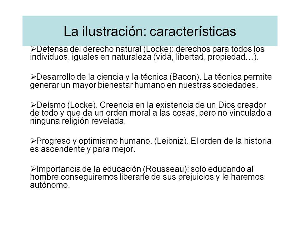 La ilustración: características