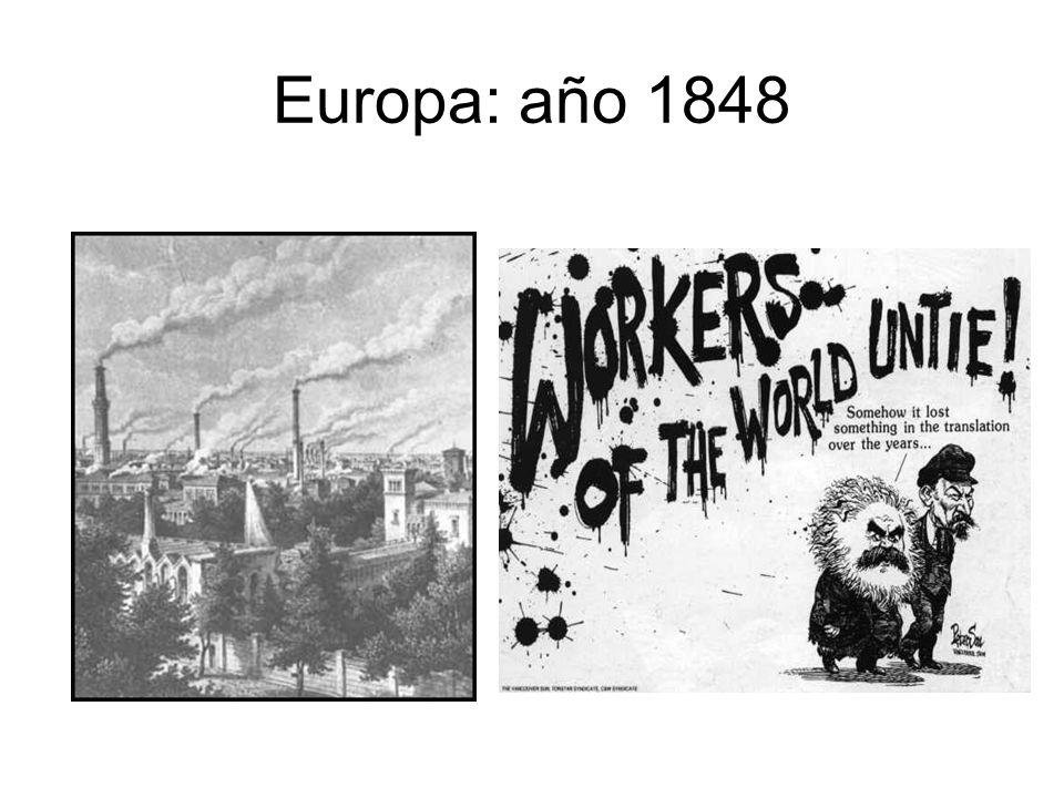 Europa: año 1848