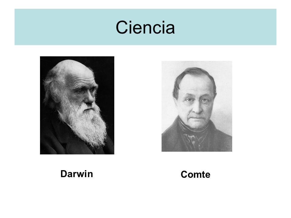 Ciencia Darwin Comte