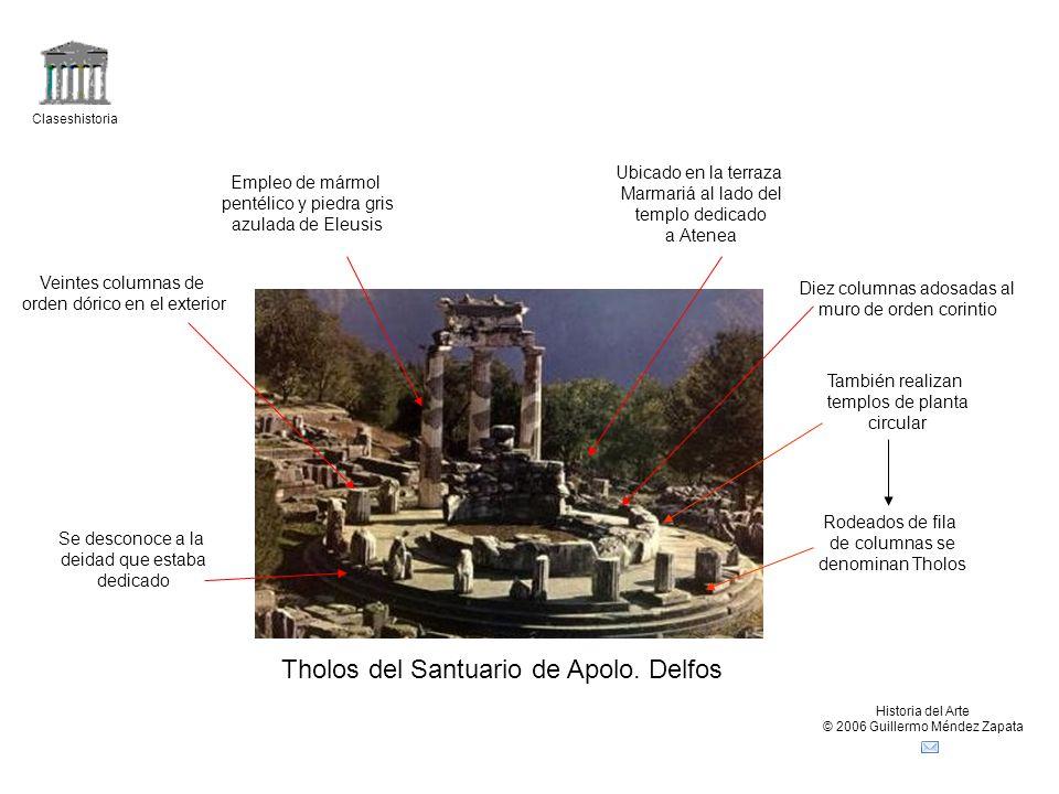 Tholos del Santuario de Apolo. Delfos