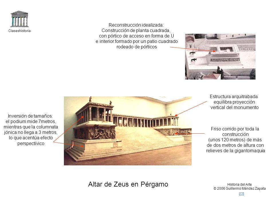 Altar de Zeus en Pérgamo