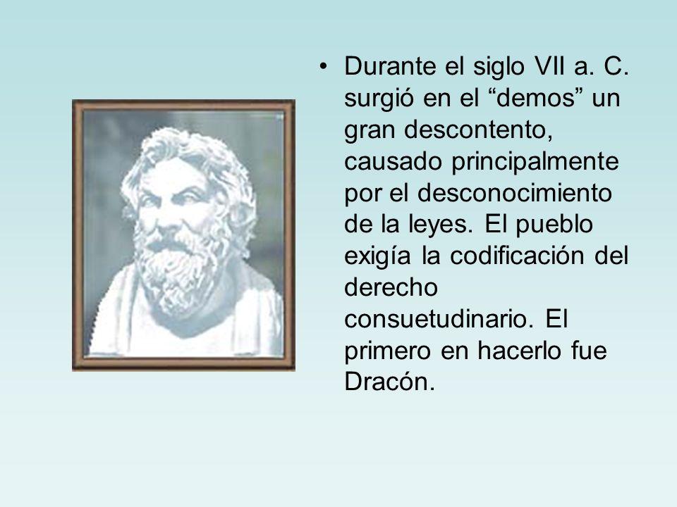 Durante el siglo VII a. C.