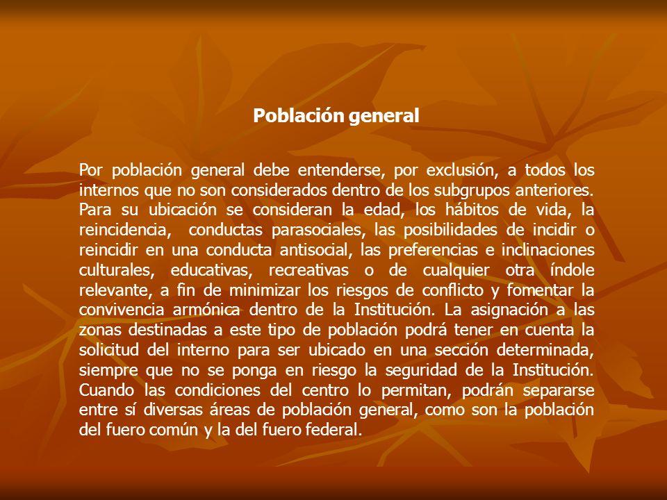Población general