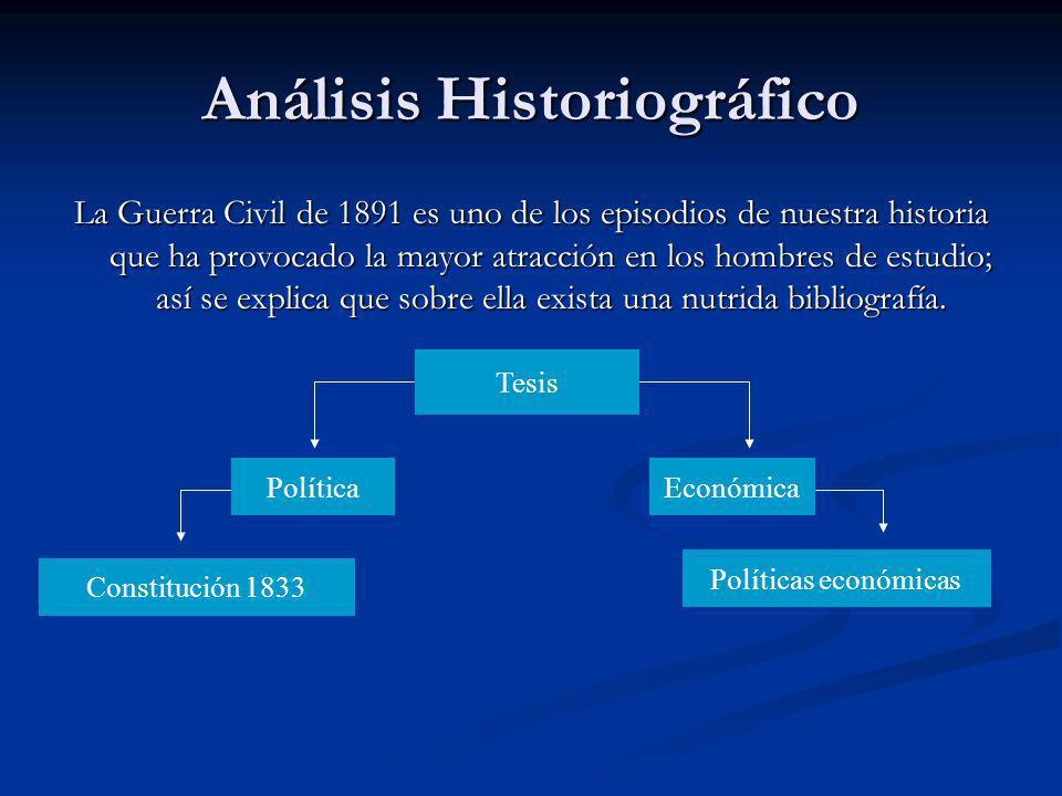 Análisis Historiográfico
