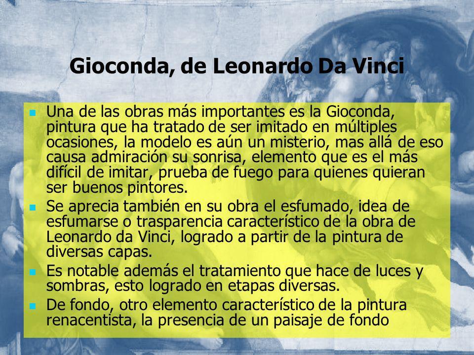Gioconda, de Leonardo Da Vinci