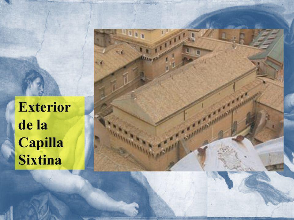 Exterior de la Capilla Sixtina