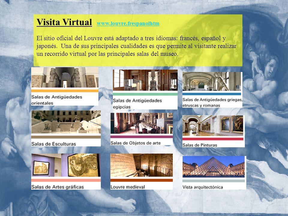 Visita Virtual www.louvre.frespanolhtm