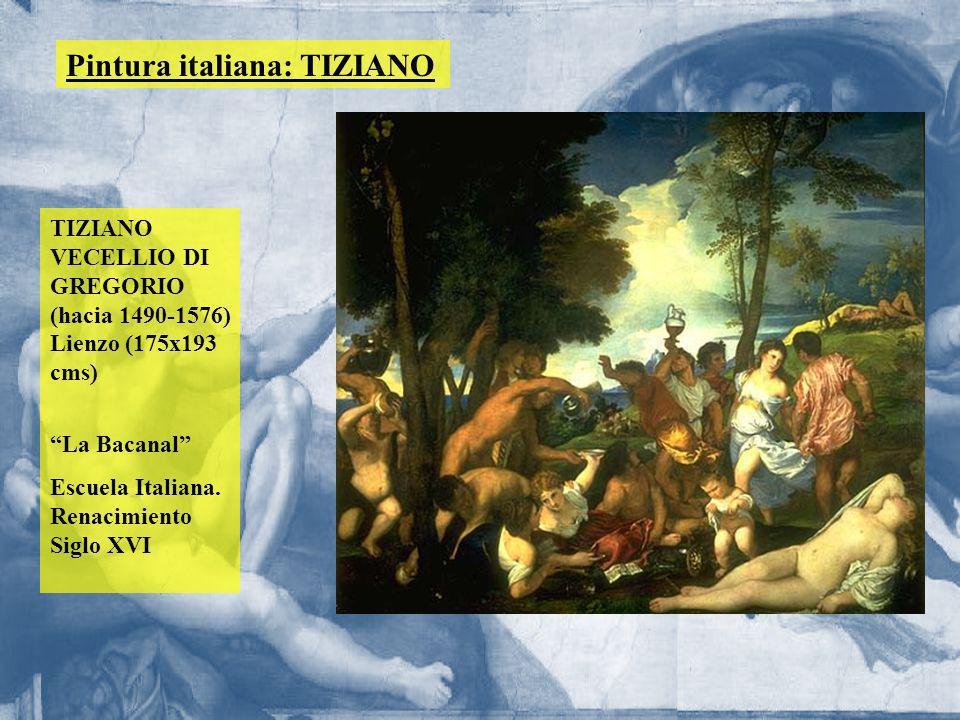 Pintura italiana: TIZIANO