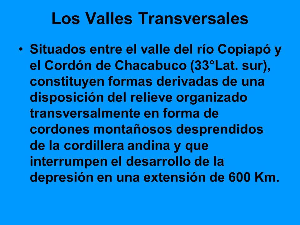 Los Valles Transversales