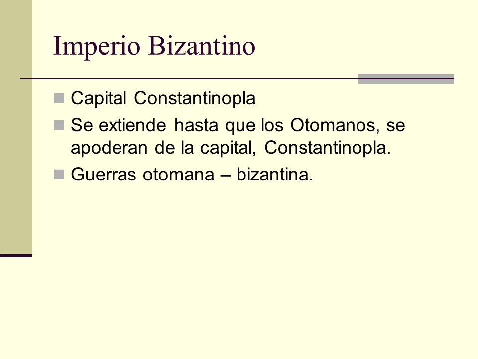 Imperio Bizantino Capital Constantinopla