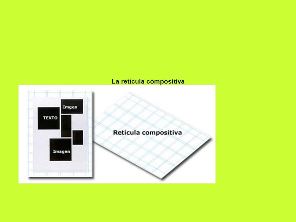 La retícula compositiva