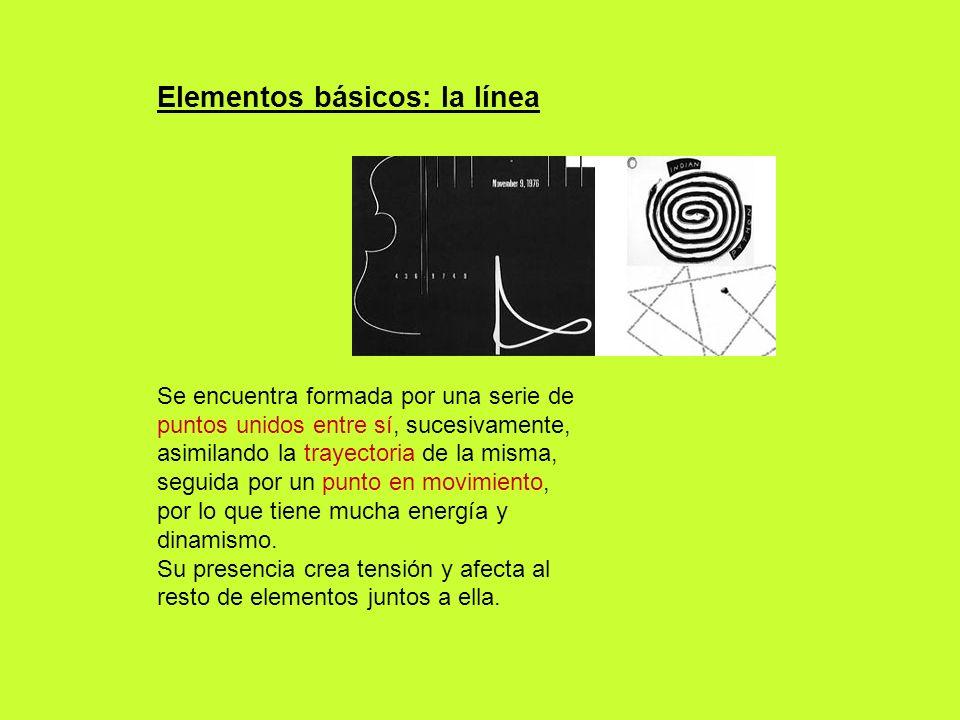 Elementos básicos: la línea