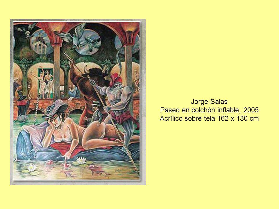 Jorge Salas Paseo en colchón inflable, 2005