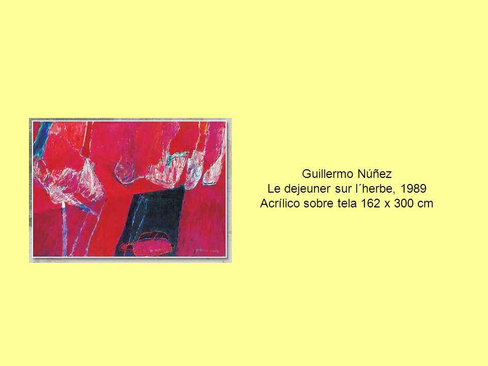 Guillermo Núñez Le dejeuner sur l´herbe, 1989