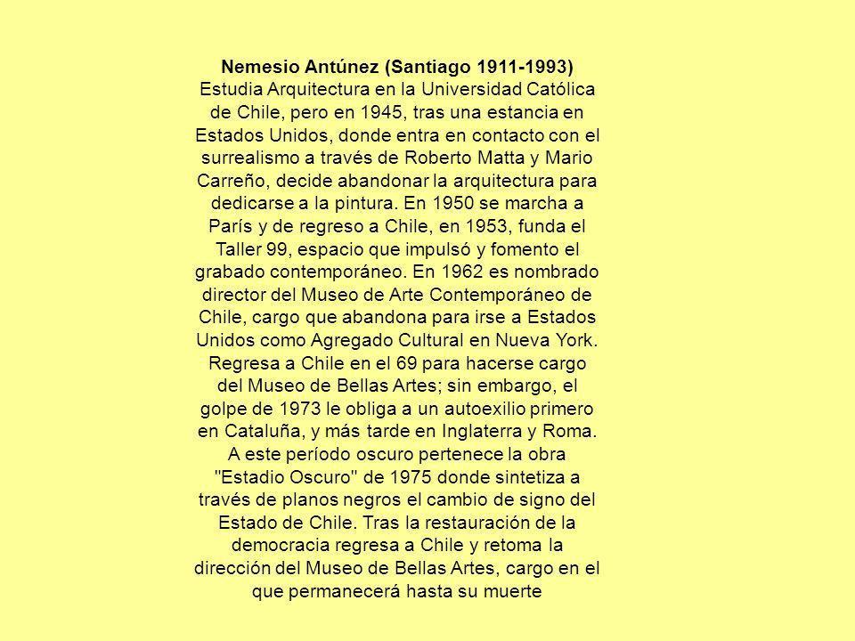 Nemesio Antúnez (Santiago 1911-1993)