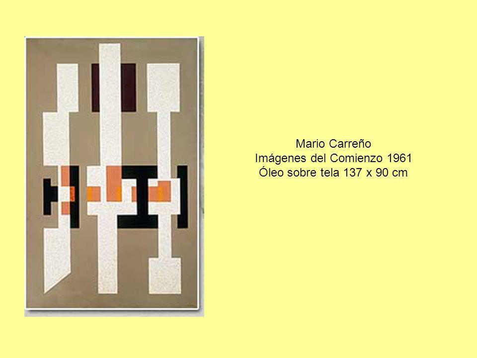 Mario Carreño Imágenes del Comienzo 1961