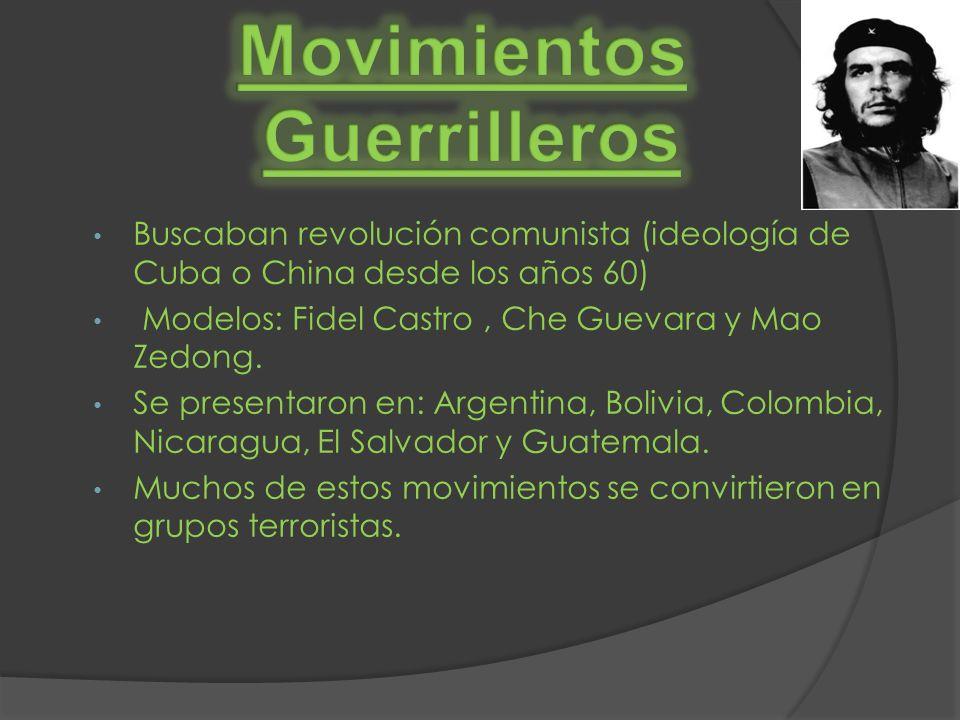 Movimientos Guerrilleros