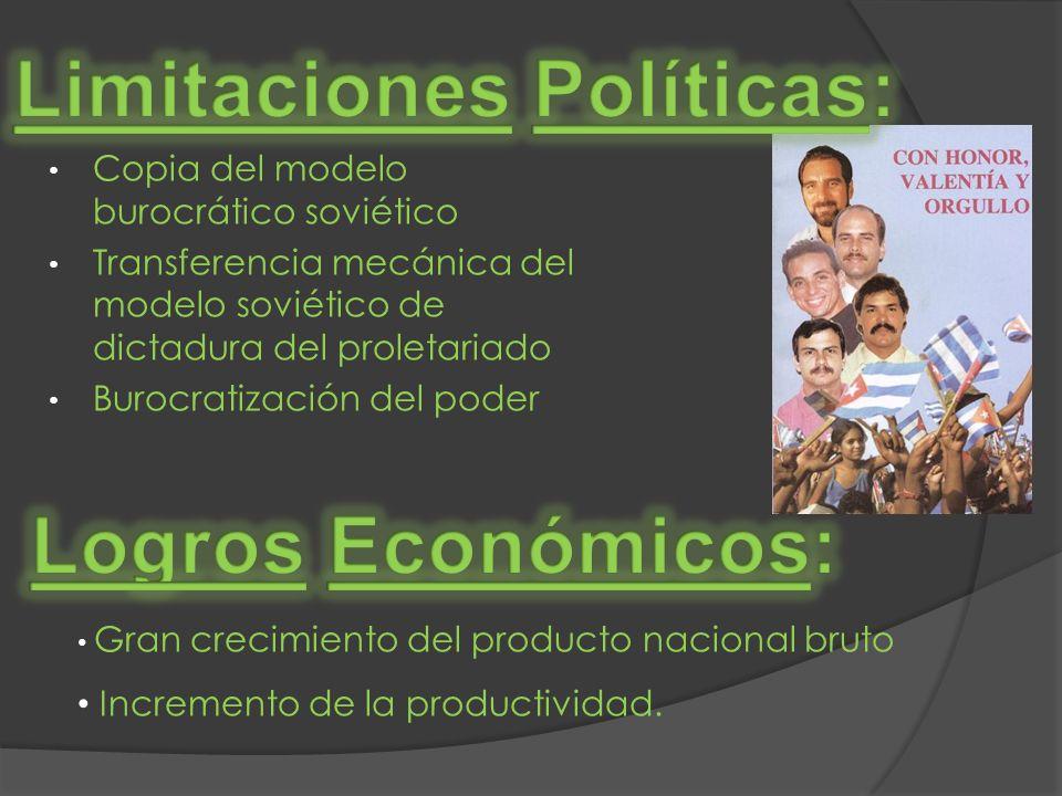 Limitaciones Políticas: