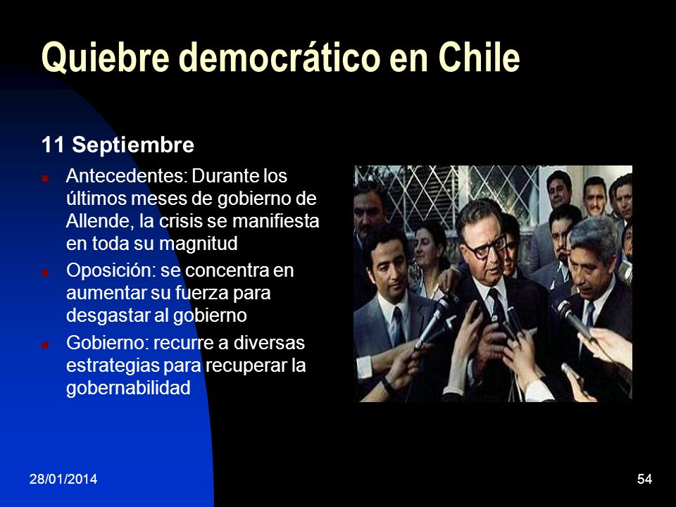 Quiebre democrático en Chile