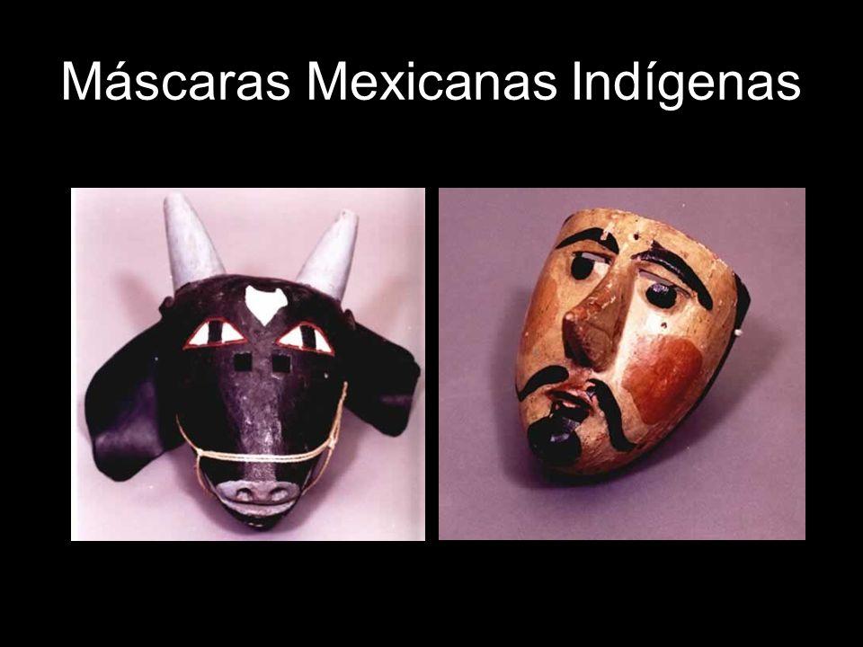 Máscaras Mexicanas Indígenas