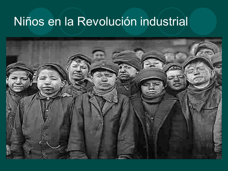 Niños en la Revolución industrial