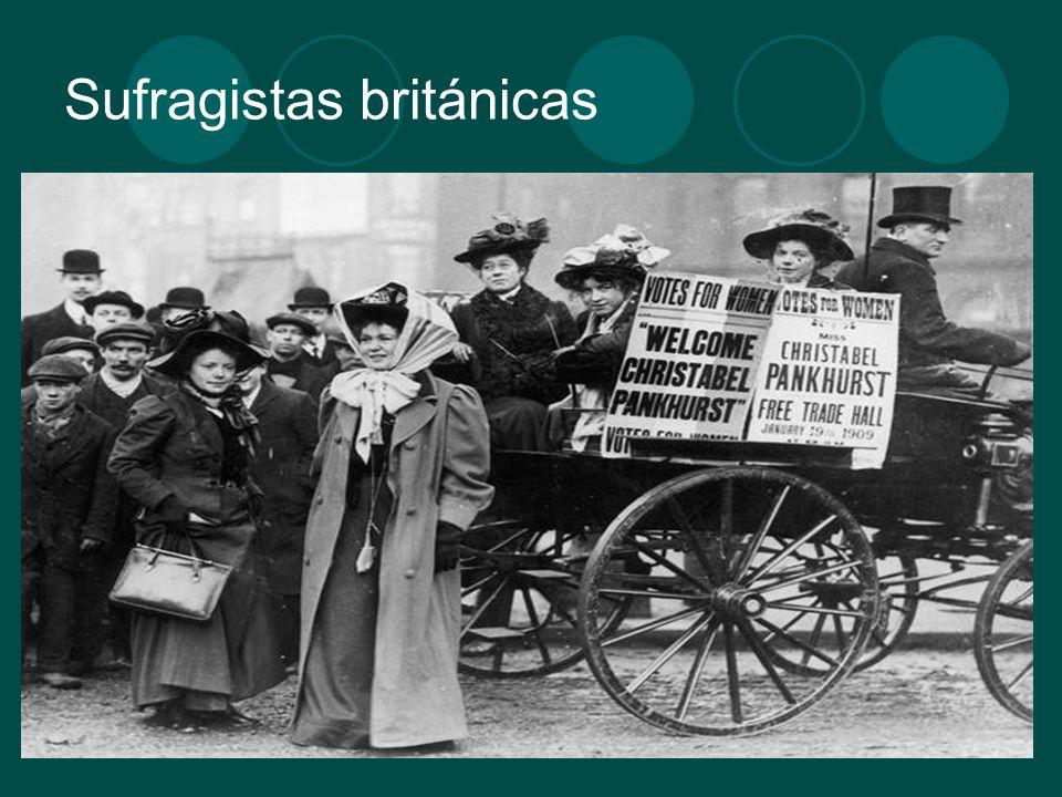 Sufragistas británicas