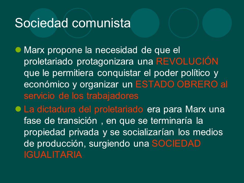 Sociedad comunista