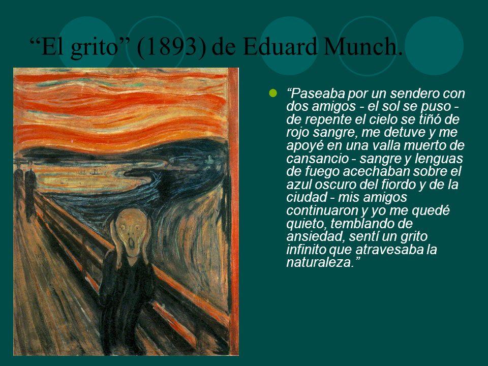 El grito (1893) de Eduard Munch.