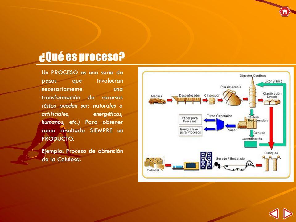 ¿Qué es proceso