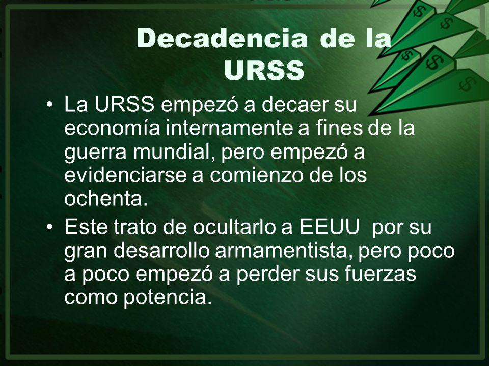 Decadencia de la URSS