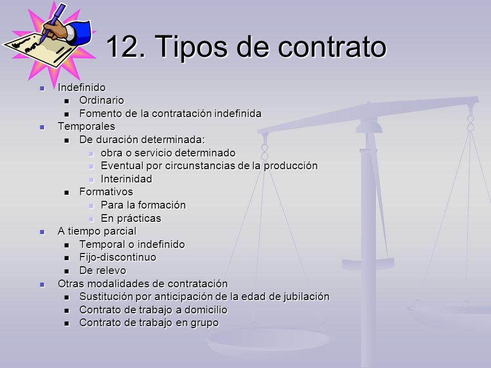89 modelo de contrato trabajo indefinido para la for Modelo contrato empleada de hogar indefinido