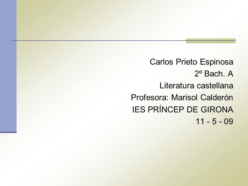 Carlos Prieto Espinosa