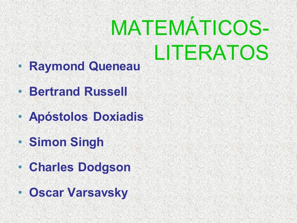 MATEMÁTICOS-LITERATOS