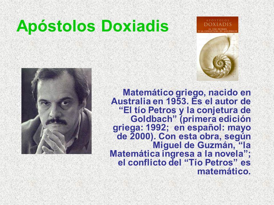 Apóstolos Doxiadis