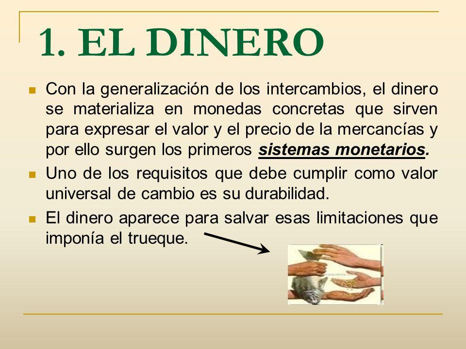 1. EL DINERO