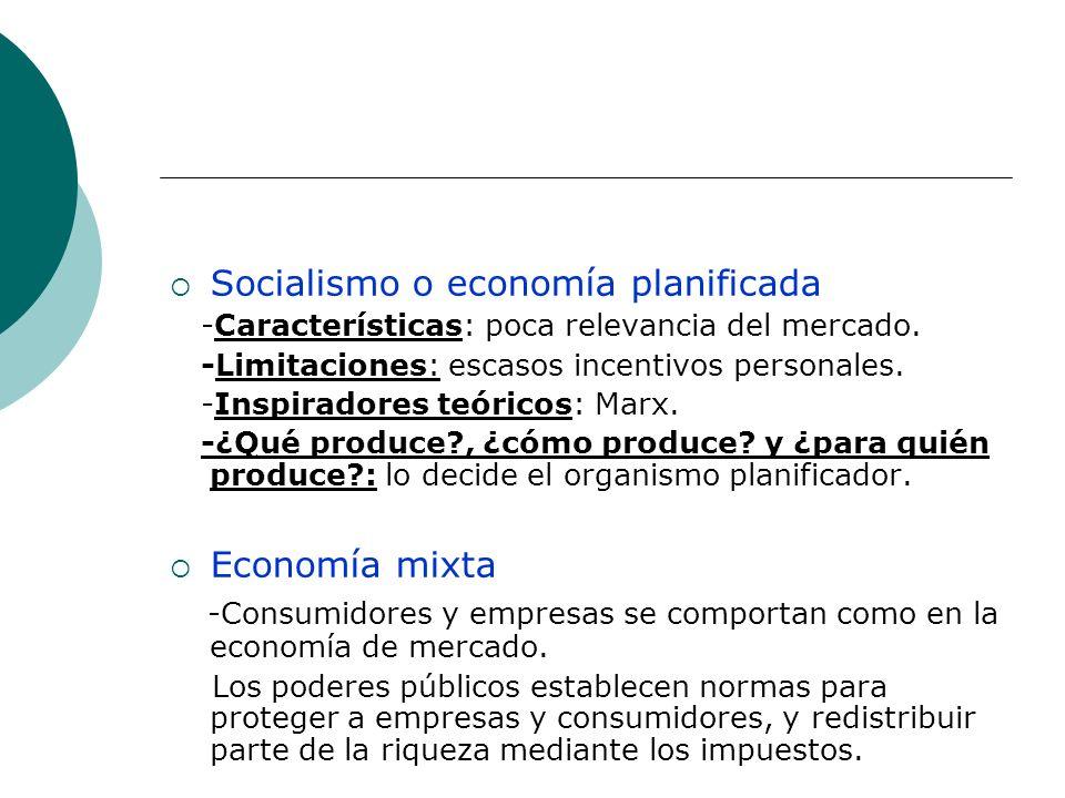 Socialismo o economía planificada
