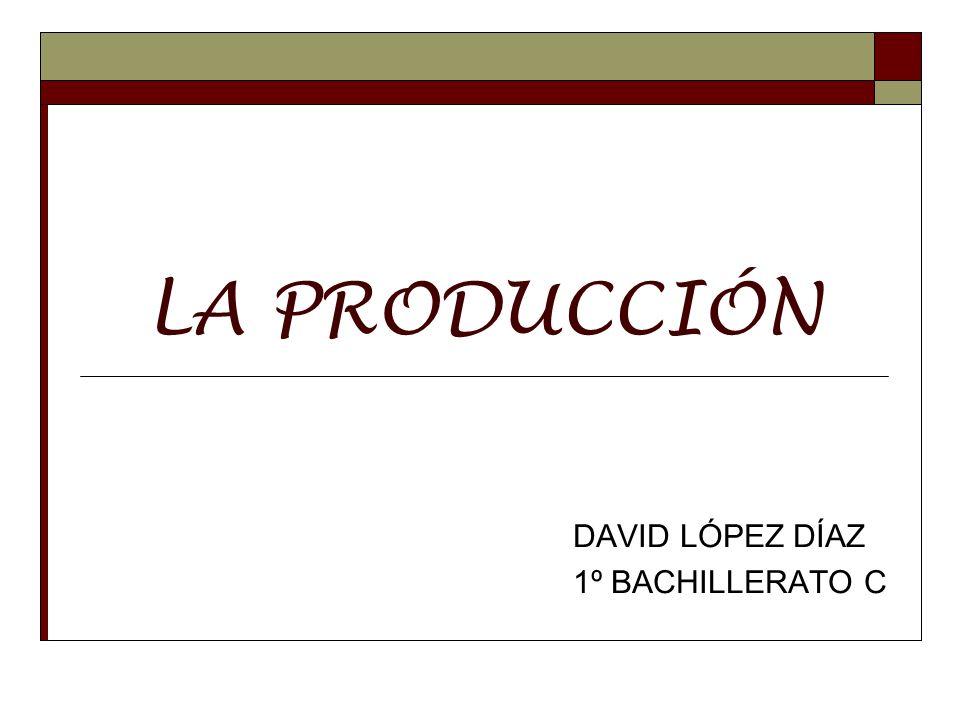 DAVID LÓPEZ DÍAZ 1º BACHILLERATO C