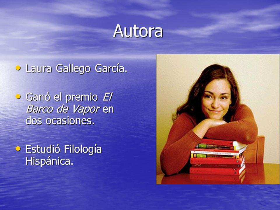 Autora Laura Gallego García.