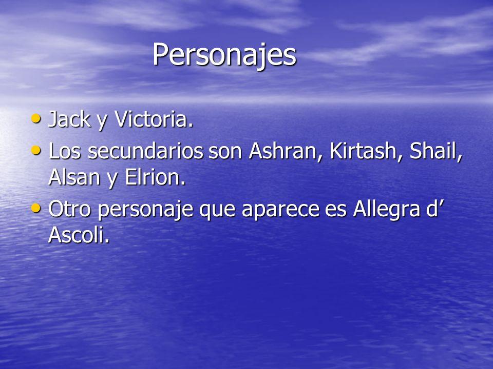 Personajes Jack y Victoria.