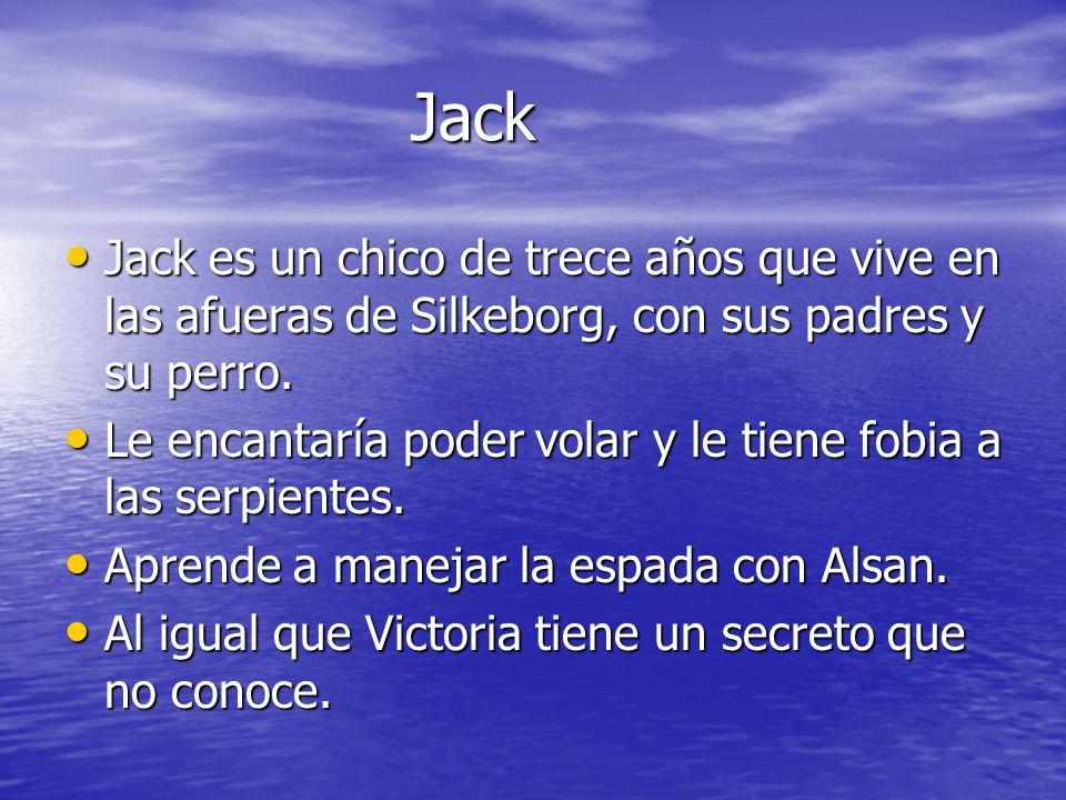 Jack Jack es un chico de trece años que vive en las afueras de Silkeborg, con sus padres y su perro.