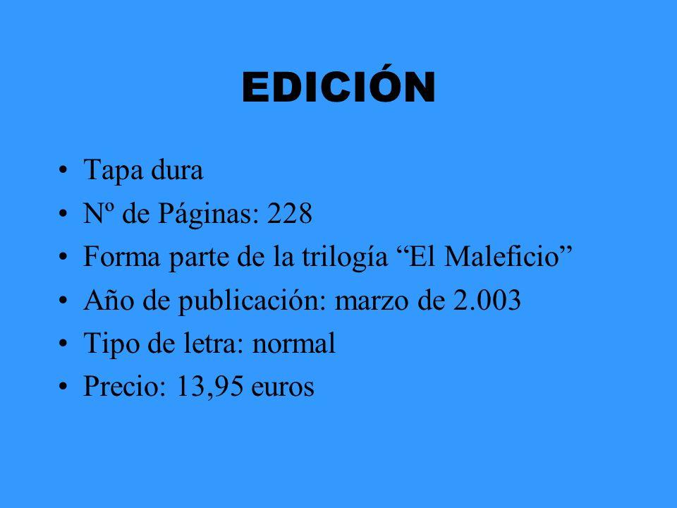 EDICIÓN Tapa dura Nº de Páginas: 228