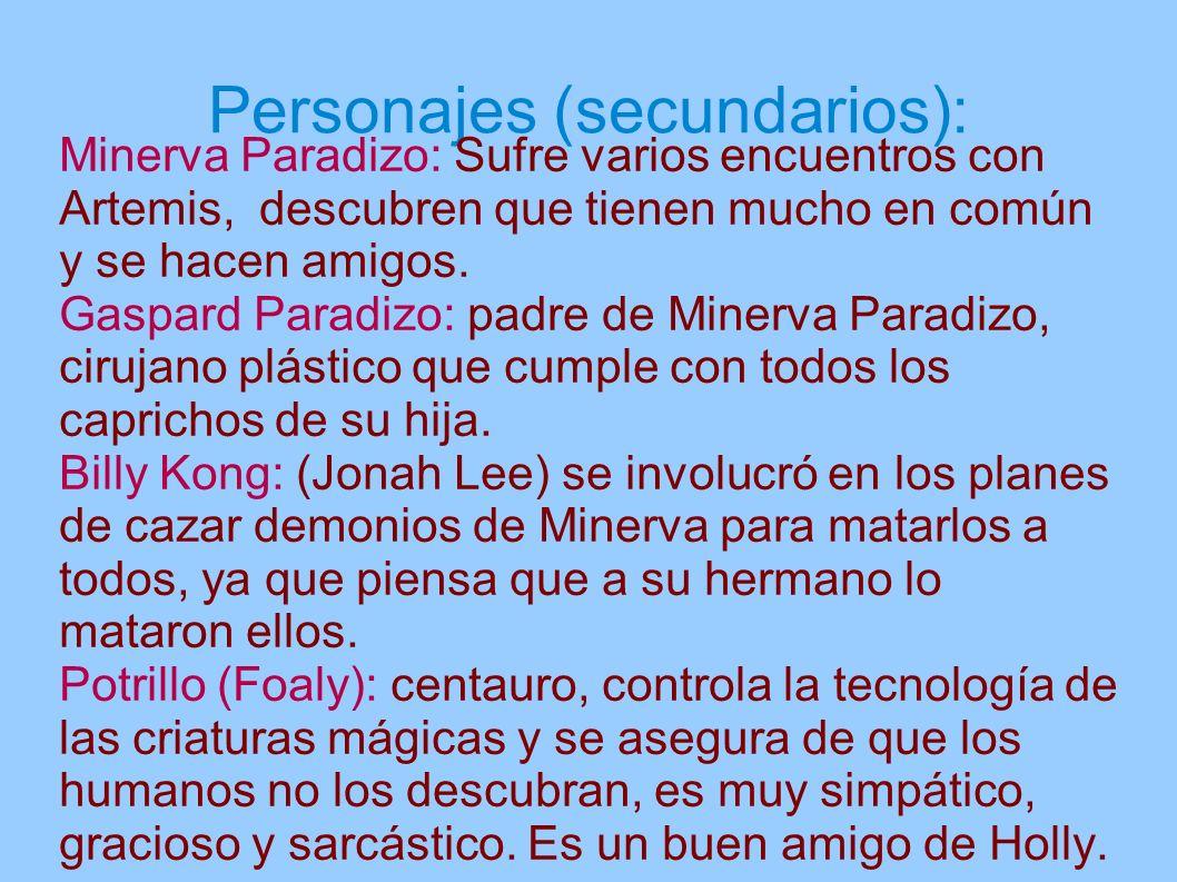 Personajes (secundarios):