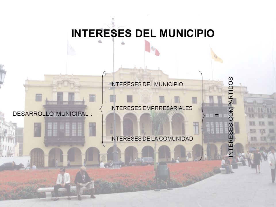 INTERESES DEL MUNICIPIO