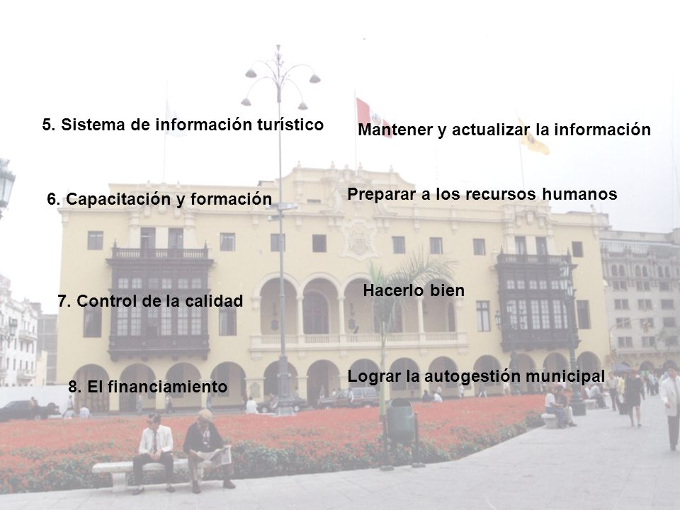 5. Sistema de información turístico