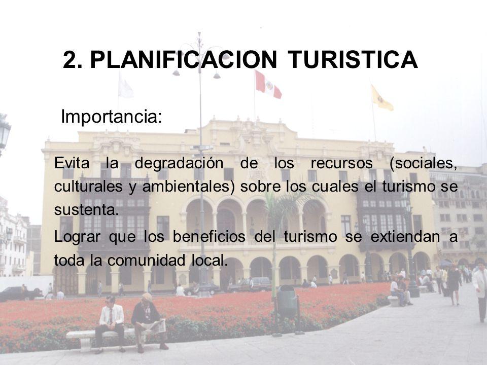 2. PLANIFICACION TURISTICA