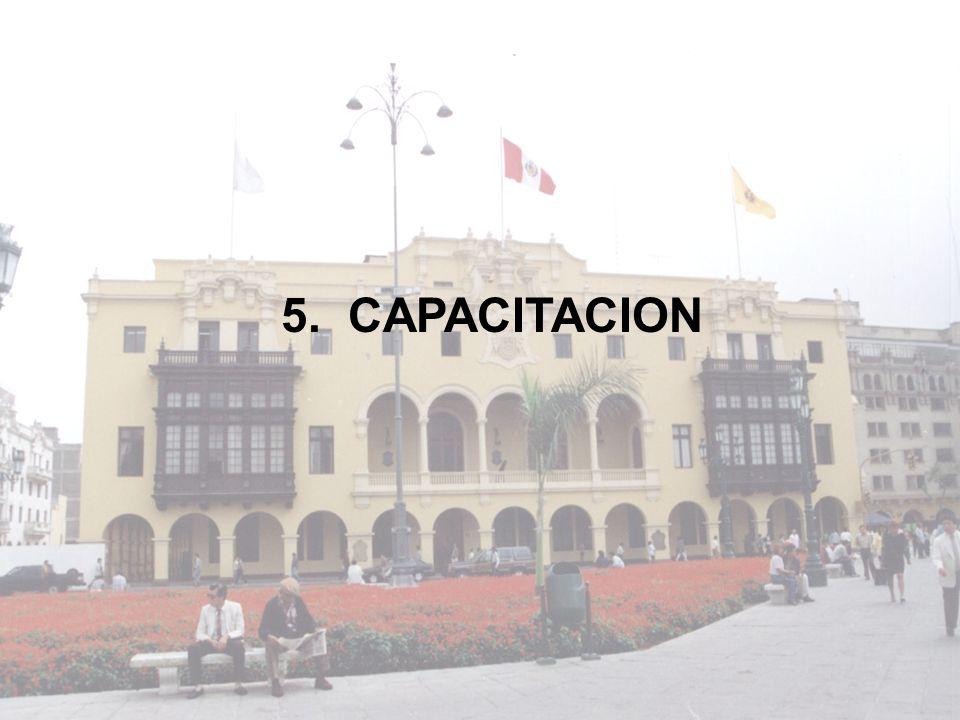 5. CAPACITACION
