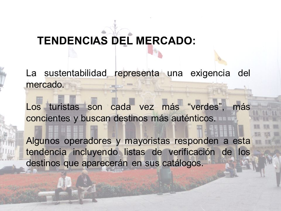 TENDENCIAS DEL MERCADO: